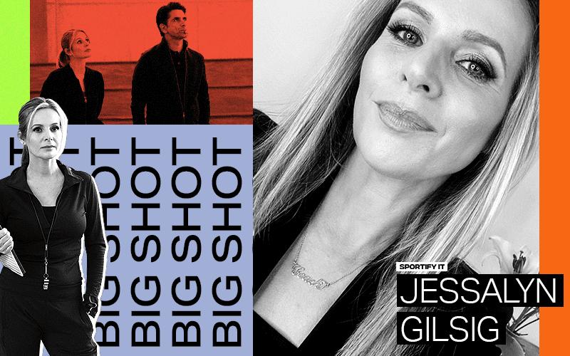 Actress Jessalyn Gilsig Isn't John Stamos' Love Interest, Yet 1