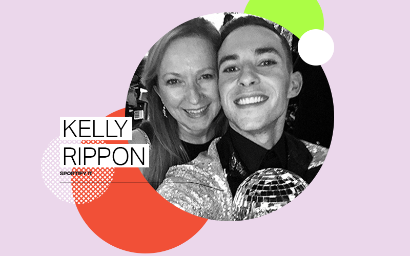 Adam Rippon's mom