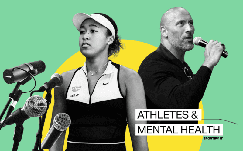 athletes who have talked about mental health