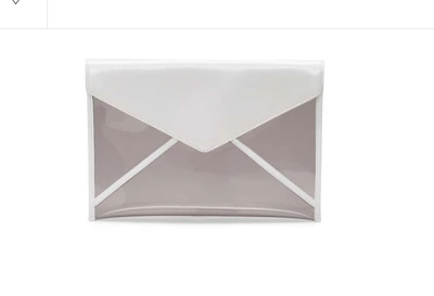 Clear bag by Rebecca Minkoff