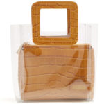 Clear bag by Staud