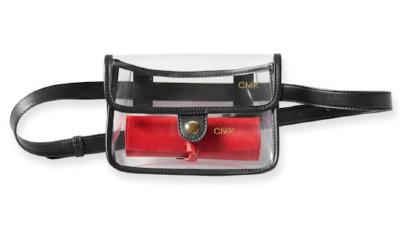 Clear belt bag by Mark & Graham