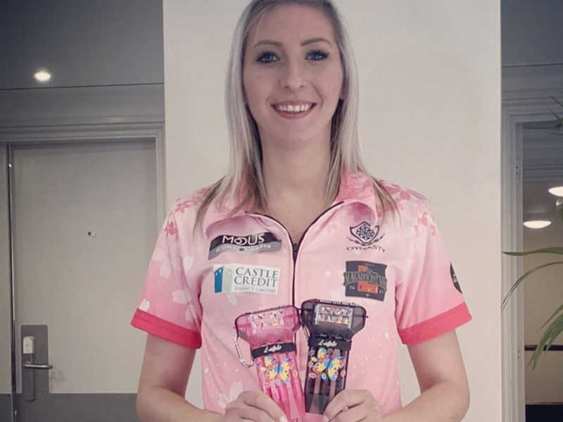 Female Darts Player