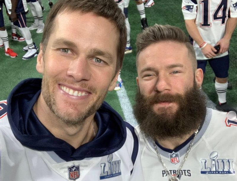 Tom Brady & Julian Edelman